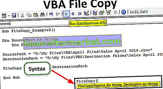 Copia de archivo VBA