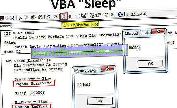 VBA-Schlaffunktion