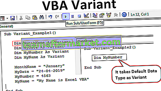 VBA-Variante