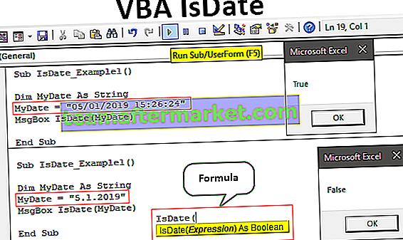 VBA IsDate-Funktion