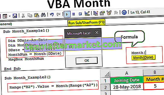 VBA-Monatsfunktion