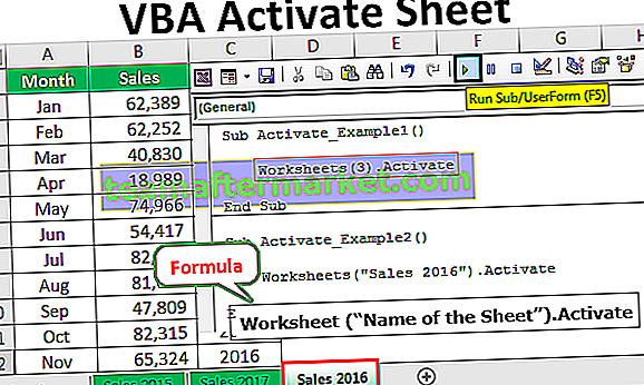 VBA Activate Sheet