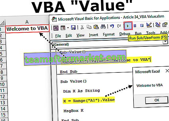 VBA Value Property