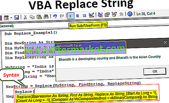 VBA-Zeichenfolge ersetzen