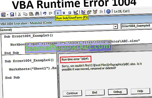 Erreur VBA 1004