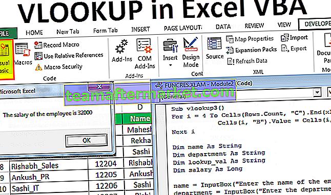 VLookup dans VBA Excel