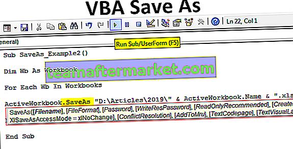 VBA Speichern unter