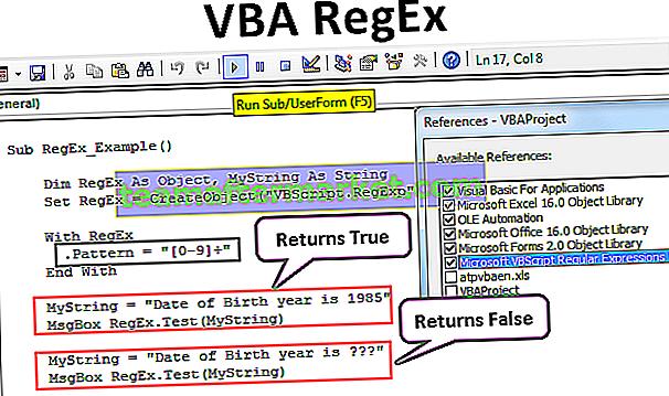 RegEx VBA