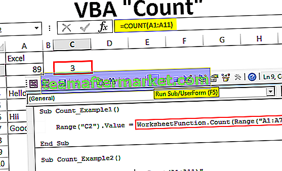 Conteggio VBA