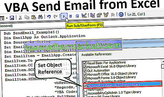 VBA Envoyer un e-mail depuis Excel