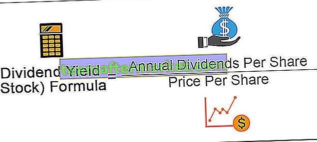 Formule de rendement du dividende
