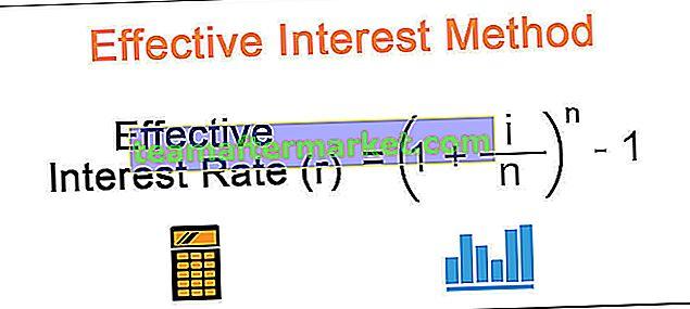 Effectieve rentemethode