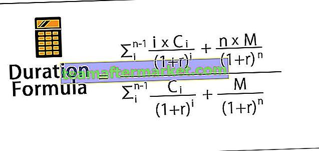Dauer Formel