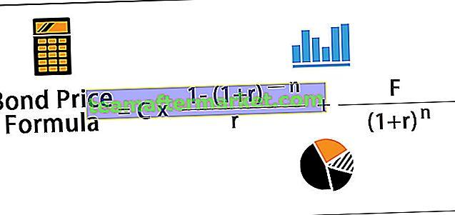 Formule voor obligatieprijzen