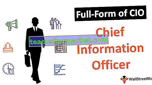 Forma completa de CIO