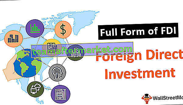 Full Form of FDI