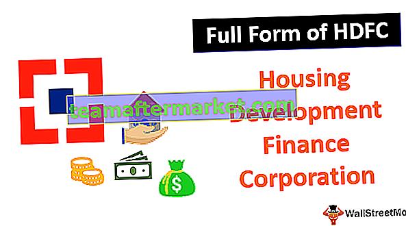 Bentuk Penuh HDFC