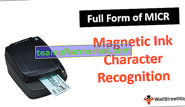 Vollständige Form von MICR