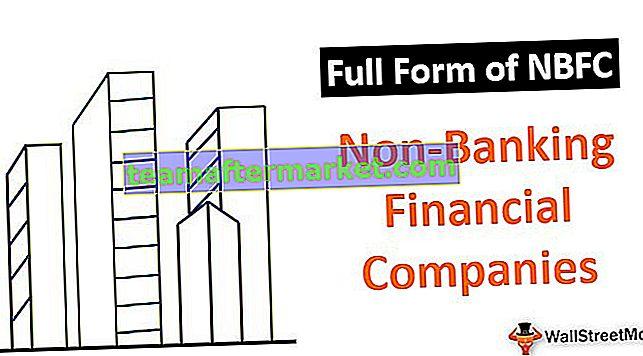 Vollständige Form von NBFC