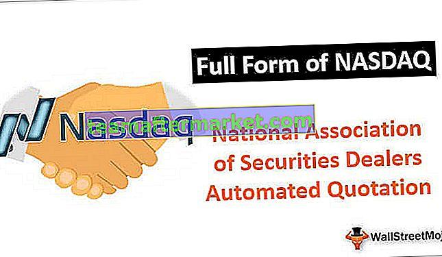 Forme complète de NASDAQ