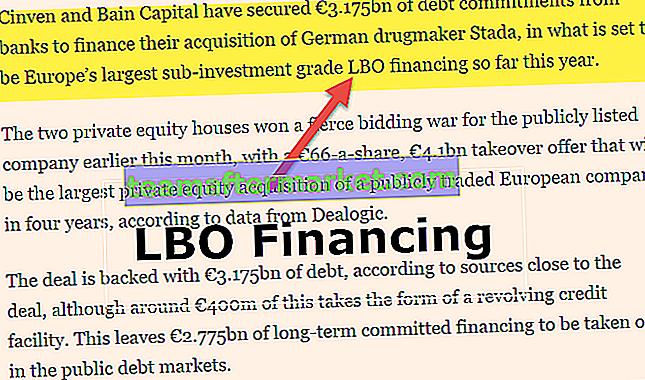 LBO-financiering