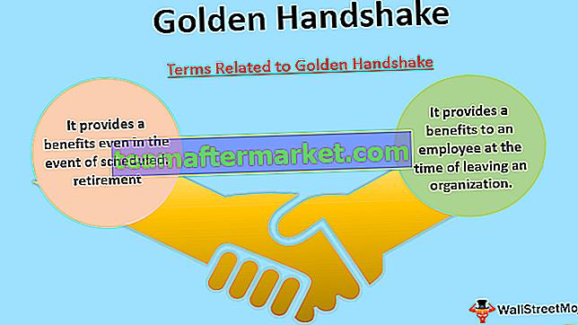 Gouden handdruk