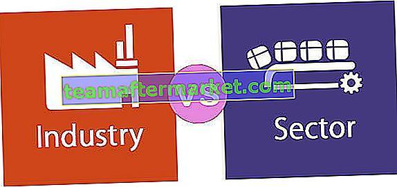 Industrie gegen Sektor