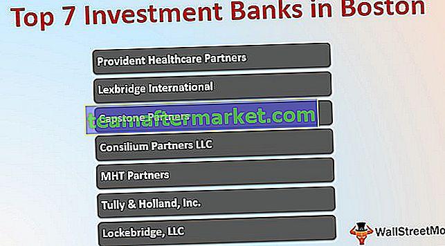 Banques d'investissement à Boston