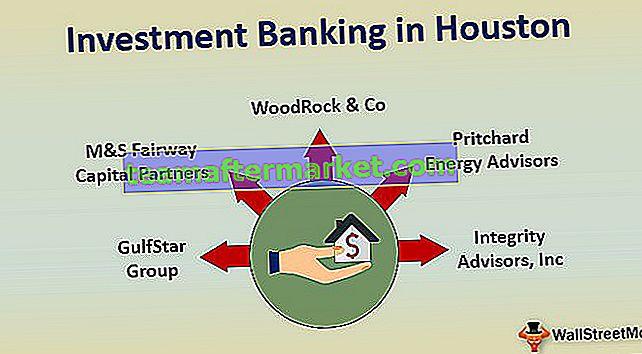 Attività bancarie di investimento a Houston