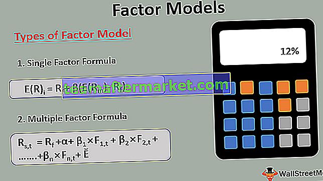 Faktormodelle
